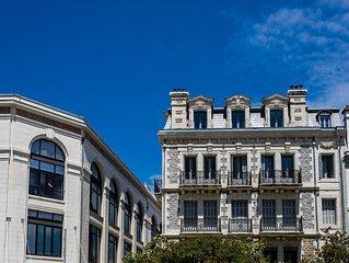 Biarritz. Appartement de standing. Tout à pied. Idéal pour se reposer en famille
