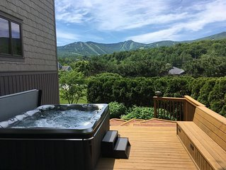 MountainView - Luxurious 5800SF Killington Home With Unobstructed Mountain Vista