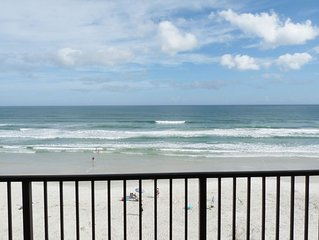 Spectacular Daytona Beach Direct Oceanfront Private Balcony Views - Dog Friendly