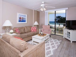 203 Sunswept 2 BD/ 2 BATH Gulf Front Condo DIRECTLY ON THE BEACH
