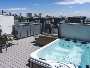 Luxe - Private Rooftop, Walk Downtown