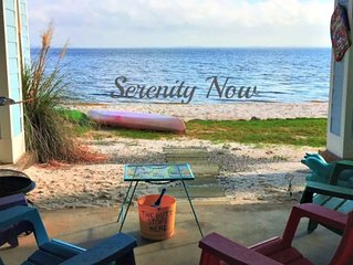 'SERENITY NOW' ON BEACH - 3 Levels of Spectacular Waterfront Views with Pool