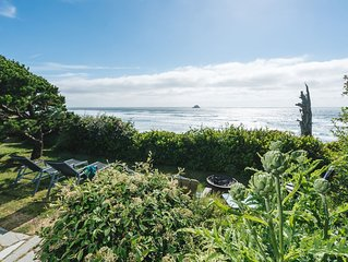 Oceanfront w/ incredible views, Pet-friendly, Near Cannon Beach, 2 King beds