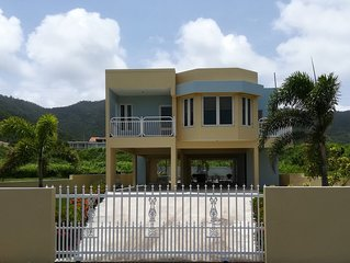 Gated Home w/private Pool on PR3 by Ocean-5 min walk to Beach
