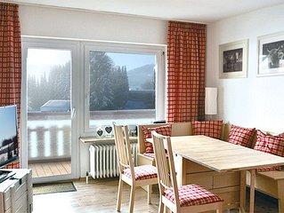 2-Zi.-FeWo in Oberstaufen mit kostenlosem WLan und Einzelgarage