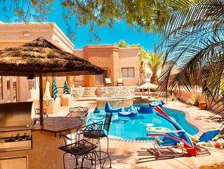 Backyard Paradise! 5 Bedrooms/3.5 Baths/Pool Spa/Pool Table/Air Hockey/Ping Pong