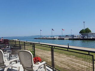 Beautiful large balcony overlooking Lake Erie and Cedar Point, read my reviews!!