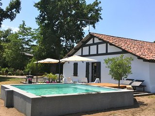 Soustons, beautiful renovated barn quietly near beaches and lakes
