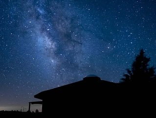 Star-gazing paradise! Photo taken by Enchanted Retreat guest John Goldman, MA