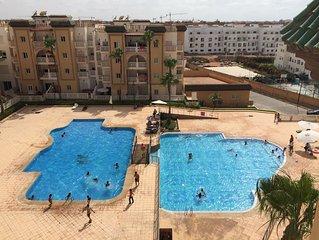 Beautiful apartment at RESIDENCE AL KAWTAR  Sleep 8 persons
