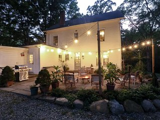 Spacious and stately house on beautiful property, 45 min to NYC & West Point