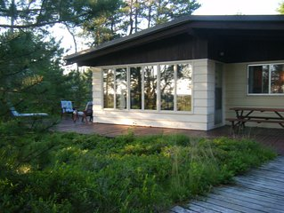 Superior  Beach House - White sand beach & Lake S just steps from front door!