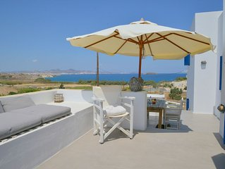Cycladic Villa with phantastic sea view