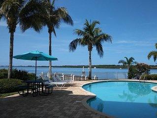 Boca Ciega Resort & Marina - Watch dolphins frolic from your waterfront balcony