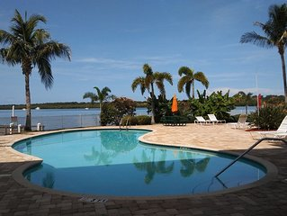 Boca Ciega Resort & Marina - Waterfront Location Overlooking Natural Habitat.