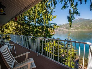 Hidden with  unbelievable view! Panorama Cottage, Private Beach Access