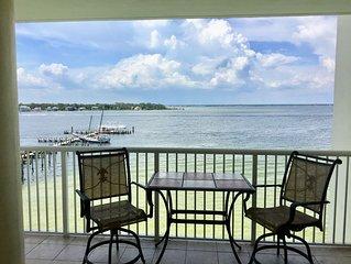 NOV DEALS!-Waterfront (Bay) w/Large Balcony-Beautiful BAY Views!- 2 Kings