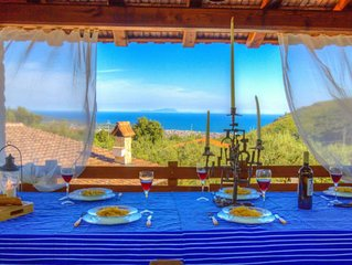 Country Seaview Villa ☼Parking High Speed Wi-Fi ☼ Garden&Pool BBQ Gazeb