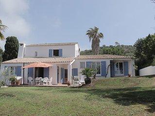Belle maison aux volets bleus 3 chambres jusqu'à  8 couchages
