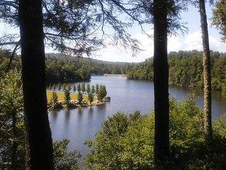 Linville Land Harbor Resort Home, Linville NC, Mountain Getaway, Great Lake View