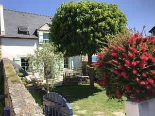 Ravissante 'Maison de pecheur' du domaine prive de Saint Julien