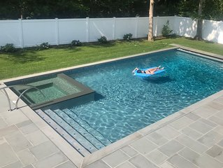 Great for Families, Modern, New Saltwater Pool, Westhampton Beach