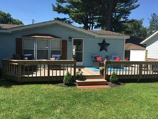 Cottage For Rent At beautiful Silver Lake, In Mears Michigan