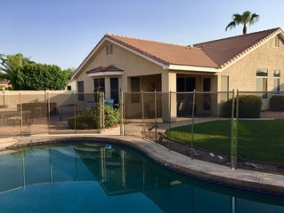 PERFECT FOR EVERYONE! Heated Pool, Hot Tub, Large South Backyard, NEW Pool Fence