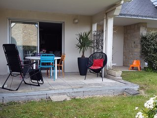 CARNAC BEACH, APARTMENT T2, PRIVATE RESIDENCE AND CALM, 150M FROM THE BEACH