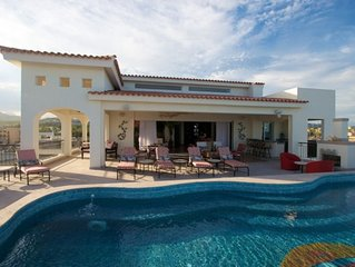 Spectacular ocean front 4 bedroom penthouse with private pool at Tortuga Bay