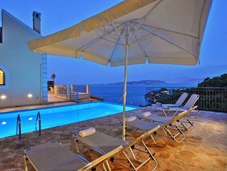 Brand new villa with private swimming pool and sensational views over Kalami Bay