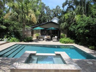 Private French Cottage W/ Garden & Heated Pool/ Spa.