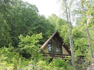 A Comfy Cabin with Easy Access, Wi-Fi & Cell Services