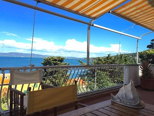 Tuscany.  Unique sea-view at winter? Book now. Recommended by 98% of the guests