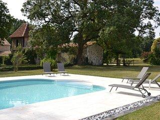 Ravissante maison périgourdine au coeur des Bastides sud Bergerac