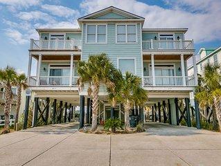 Porpoise Pad third row duplex with private pool in Garden City Beach