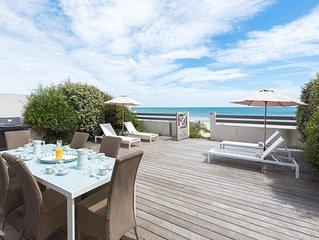 Magnifique villa sur le sable , confortable et spacieuse