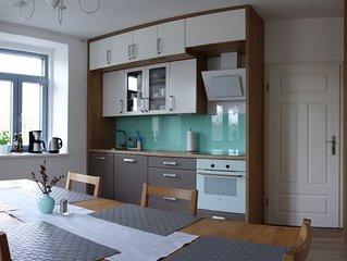 Geräumige Ferienwohnung für 6 Personen mit 3 Schlafzimmern, kinderfreundlich