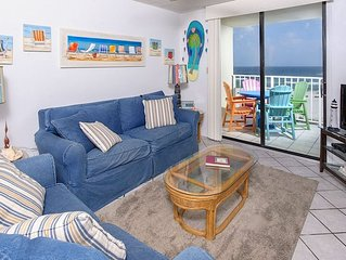 407 Sunswept 2 BD/2 BATH Gulf Front Condo ***GREAT OFF SEASON RATES**