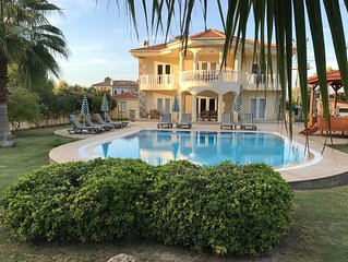 Large Private Villa with beautiful pool, gardens, and mountain views