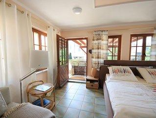 Suite 'Lago' mit 42qm, fur maximal 2 Personen