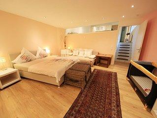 Wohnung 1 'Giardino' mit Zen-Garten, 90 qm, 2 Schlafzimmer,  max. 6 Personen