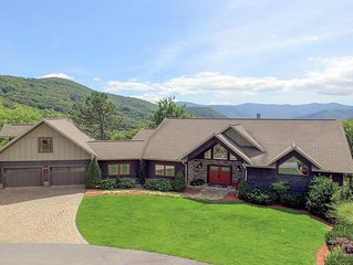 Luxury  Newer Home,  Spotless, Huge Views,near Cataloochee,  Asheville, & Harrah