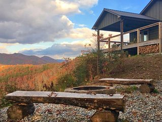 Eagle's Landing -Overlooking Fontana Lake and the Great Smoky Mountains Ntl Park