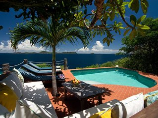 Tropical home minutes away from white sandy beach -  Includes your personal cook