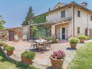 7 bedroom accommodation in Fiano-Certaldo FI