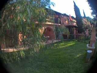 Casa con giardino nella natura e nel verde Cod.Reg.049004LTN0015