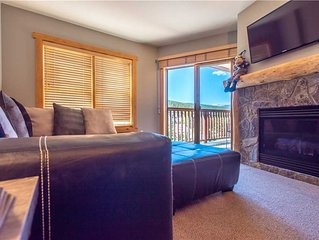 Steps away from the lifts, 3 outdoor hot tubs, free wifi, & parking.