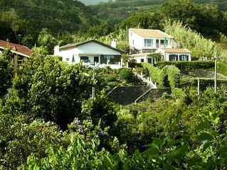 VILA BELA -  Casa com vista para o mar e serra
