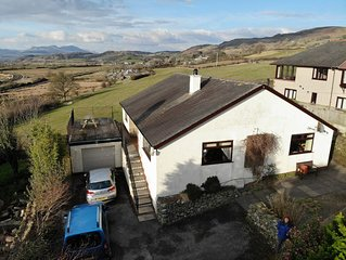 4 star rated luxury self-catering cottage with superb views of the fells